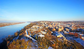 Town klimek.  A general view of the city Grudziadz Stock Images