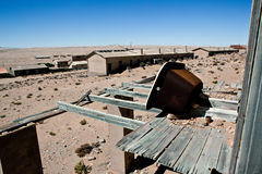 Town Kolmanskop in Namibia Stock Photo