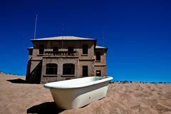 Town Kolmanskop in Namibia Stock Photography