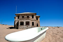 Town Kolmanskop in Namibia Royalty Free Stock Photo