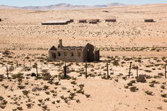Town Kolmanskop in Namibia Royalty Free Stock Photography