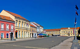 Town of Koprivnica street and architecture Stock Photos