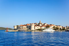 Town Korcula in Croatia Stock Image