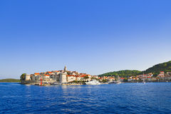 Town Korcula at Croatia Stock Photos