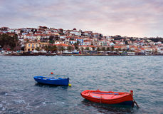 The town of Koroni Royalty Free Stock Photos