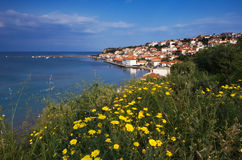 The town of Koroni, Greece Stock Photography