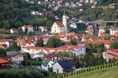 Town Krapina Royalty Free Stock Photo