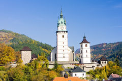 Town of Kremnice Stock Images