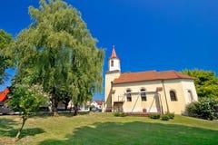 Town of Krizevci Saint Marko church Royalty Free Stock Photo