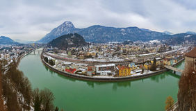 Town Kufstein in Austria Stock Photography