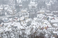 The town of Kulmbach in Franconia, Germany Royalty Free Stock Photo