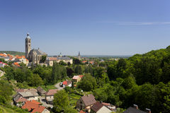 Town of Kutna Hora Royalty Free Stock Image