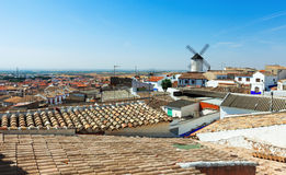 Town in La Mancha. Campo de Criptana Stock Images