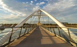 Tempe Pedestrian Bridge royalty free stock images