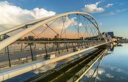 Tempe Pedestrian Bridge stock images