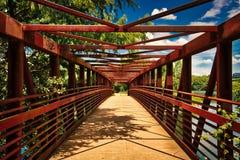 Town Lake Trail Bridge, Austin TX Royalty Free Stock Photo