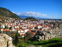 Town Landscape Royalty Free Stock Photos