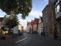 Town, Lane, Street, Road stock image