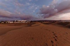 Las Palmas town. Town in Las Palmas, Canary Islands stock image