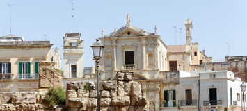 Town of Lecce Stock Images