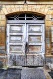 Town Levoča - old door stock photo