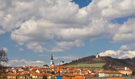 Town of Levoca in Slovakia Stock Photos