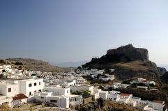 Town of Lindos, Greek Stock Photography
