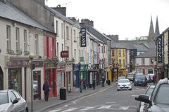 Town of Listowel, County Kerry circa 2015 Stock Photography