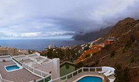 Town Los Gigantes at Tenerife island - Canary Stock Photography