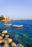 Town Loutraki in Greece Royalty Free Stock Photo