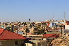 The town of Luderitz, Namibia Stock Images