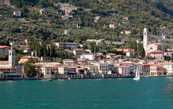 Town of Maderno Royalty Free Stock Image