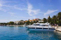 Town Makarska in Croatia Stock Photos