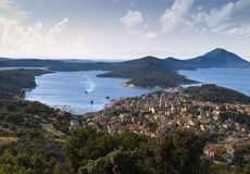 Town Mali Losinj Royalty Free Stock Photos