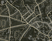 Town map Royalty Free Stock Photo
