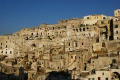 Town of Matera Italy Royalty Free Stock Photo