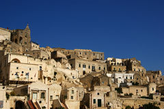 Town of Matera Italy Royalty Free Stock Photo