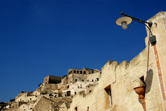 Town of Matera Italy Stock Photography