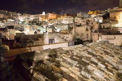 The town of Matera in southern Italy Stock Photos