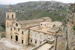 The town of Matera in southern Italy Royalty Free Stock Photography
