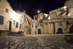 The town of Matera in southern Italy Royalty Free Stock Image