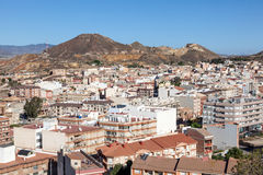 Town of Mazarron, Spain Royalty Free Stock Photos