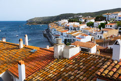 Town at Mediterranean. Cadaques Royalty Free Stock Photography