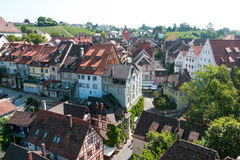 Town of Meersburg Stock Photo