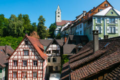 Town of Meersburg Royalty Free Stock Image