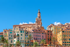 Town of Menton, France. Royalty Free Stock Photo