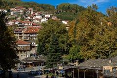 Town of Metsovo, Epirus Royalty Free Stock Photos