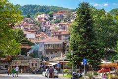 Town of Metsovo. Epirus, Greece Royalty Free Stock Photography