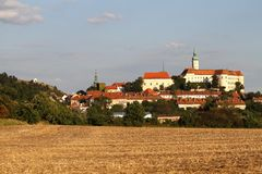 Town Mikulov Royalty Free Stock Images