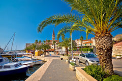 Town of Milna on Brac island Royalty Free Stock Photos